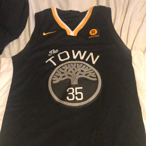 "hot sale online c8d6e 582f9 Golden State Warrior Kevin Durant ""Town"" Jersey"